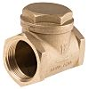RS PRO Brass Single Non Return Valve 1-1/2