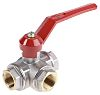 RS PRO Brass Reduced Bore Ball Valve 3/4