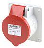 MENNEKES IP44 Red Panel Mount 4P Industrial Power