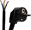 RS PRO 2m Power Cable, Unterminated to CEE