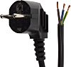RS PRO 3m Power Cable, Unterminated to CEE