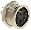 RS PRO 4 Pole Din Socket Socket, 4A,