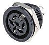 RS PRO 6 Pole Din Socket Socket, 4A,