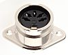 RS PRO 5 Pole Din Socket Socket, 4A,