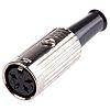 RS PRO 4 Pole Din Socket Socket, 1A,