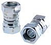 Parker Hydraulic Straight Threaded Adapter 8H6K4S, Connector A