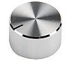 RS PRO Potentiometer Knob, Grub Screw Type, 22mm