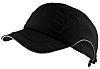 JSP Black Standard Peak Safety Cap, HDPE Protective
