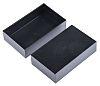 Black ABS Potting Box, 100 x 60 x