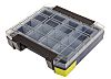 Raaco 11 Cell Grey PC, PP Compartment Box,