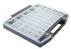 Raaco 45 Cell Grey PC, PP Compartment Box,