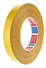 Tesa 51571 White Double Sided Cloth Tape, 19mm
