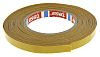 Tesa 51571 White Double Sided Cloth Tape, 12mm