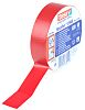 Tesa Tesaflex 53948 Red PVC Electrical Tape, 19mm