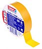Tesa Tesaflex 53948 Yellow PVC Electrical Tape, 19mm