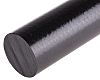 RS PRO Black Polyetheretherketone PEEK Rod, 300mm x
