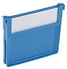RS PRO Front-to-Back Bin Divider for use with Size 1, Size 4, Dimensions80 x 94mm