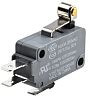 SPDT-NO/NC Short Roller Lever Microswitch, 16 A @