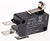 SPDT-NO/NC Short Roller Lever Microswitch, 22 A @