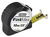 Stanley FatMax 10m Tape Measure, Imperial, Metric