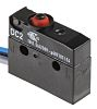 SPDT-NO/NC Button Microswitch, 10.1 A @ 250 V ac