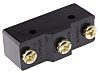 SPDT-NO/NC Button Microswitch, 20 A @ 250 V
