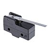 SPDT-NO/NC Long Hinge Lever Microswitch, 15 A @