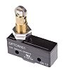 SPDT-NO/NC Plunger Microswitch, 15 A @ 250 V