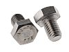 Plain Stainless Steel Hex M8 x 12mm Set