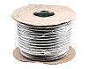 PVC Stahlgeflecht-Steuerkabel 3-adrig x 1,5 mm², 50m