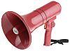 TOA Red Hand Grip Megaphone, ER1215S, 15 W,