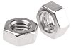 RS PRO Stainless Steel, Hex Nut, M3.5