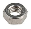 RS PRO Stainless Steel, Hex Nut, M8