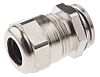 SIB SIB-TEC M16 Cable Gland With Locknut, Nickel