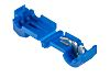 RS PRO T-Tap Wire Splice Connector, Blue, Insulated