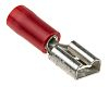 RS PRO Red Insulated Crimp Receptacle, 6.3 x