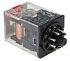 Omron, 230V ac Coil Non-Latching Relay DPDT, 10A