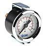 SMC Analóg pozitív nyomásmérő Hátsó bemenetű, külső Ø: 43mm, DKDCAL