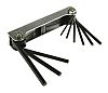 RS PRO 9 pieces Hex Key Set, 1/4in