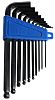 RS PRO 10 pieces Hex Key Set, L