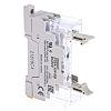Omron 10 Pin Relay Socket, DIN Rail, 24V