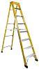 RS PRO Fibreglass 8 steps Step Ladder, 2.1m