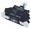 Schneider Electric Harmony XB Light Block - White, 230V
