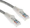 RS PRO Grey PVC Cat5e Cable U/UTP, 5m