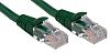 RS PRO Green LSZH Cat5e Cable U/UTP, 3m Male RJ45/Male RJ45