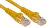 RS PRO Yellow LSZH Cat5e Cable U/UTP, 1m