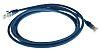 RS PRO Blue LSZH Cat5e Cable U/UTP, 2m