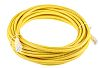 RS PRO Yellow Cat6 Cable U/UTP PVC Male