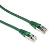 RS PRO Green Cat6 Cable F/UTP LSZH Male