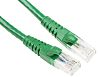 RS PRO Green Cat6 Cable U/UTP PVC Male